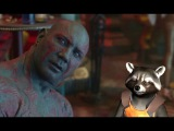 Удаленная сцена из фильма Стражи Галактики Начало пьяной драки Дракса и Ракеты в баре GUARDIANS OF THE GALAXY Deleted Scene - Drunk Drax (2015) Marvel Movie HD