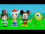 Мультик игра для детей Ванилопа Фон Кекс, Финес, мышонок Микки Маус, Рендал ,Майк Возовский, машинки