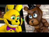 [SFM FNAF] Animatronics Reaction to BABY