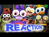 [SFM FNAF] Animatronics Reaction to FNAF Sister Location Trailer