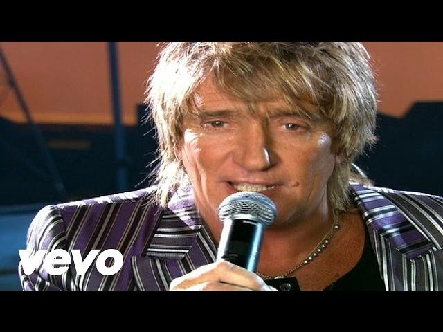 Rod Stewart Have You Ever Seen The Rain Official Video