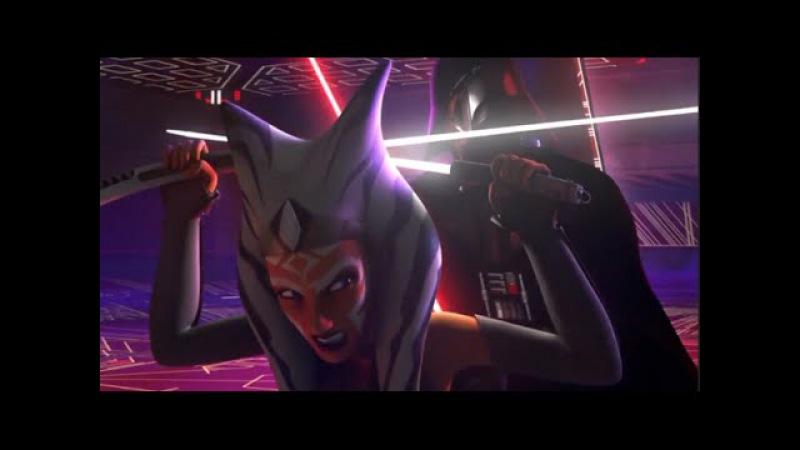 Ahsoka Tano VS Darth Vader