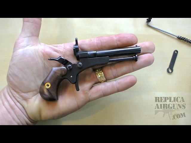 Pedersoli Derringer Guardian 11 4 5mm - 177 Pellet Pistol Table Top Review