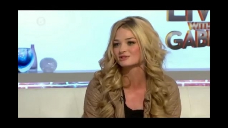 Emma Rigby Prisoners Wives interview - Live with Gabby - January 31st 2012