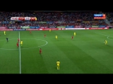 Чемпионат Европы 2016  Отборочный турнир  Группа C  5-й тур  Испания – Украина  Спорт 1 2 тайм