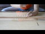 OUKITEL K4000 screen test-Knock Nail into Wood