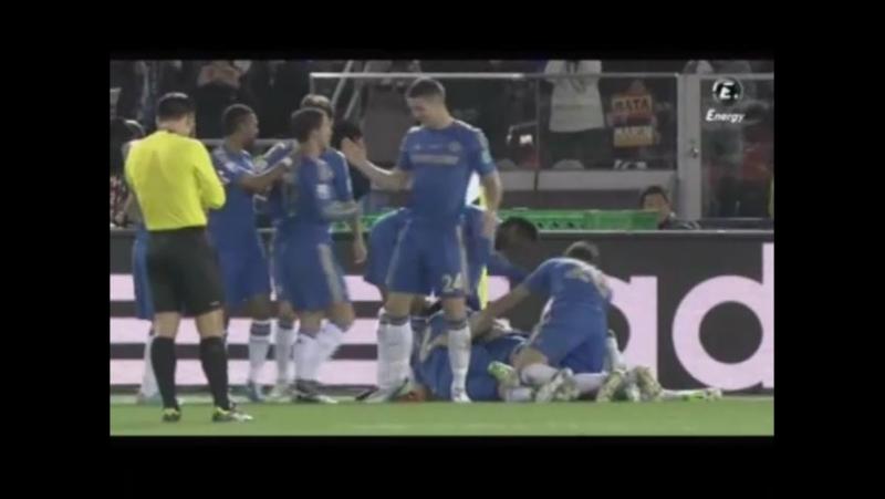 Gol de Torres (0 2). C. F. Monterrey 1 Chelsea F. C. 3 (13 12 12) Mundial FIFA de Clubes