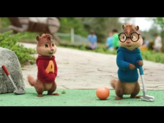 """Элвин и бурундуки Грандиозное бурундуключение (""""Alvin and the Chipmunks: The Road Chip"""") - 2016: Трейлер"""