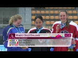 Ice Hockey Skills Challenge - Sena Takenaka wins gold -Lillehammer 2016 -Youth Olympic Games-