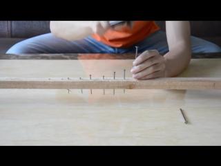 Смартфон забивает гвозди! OUKITEL K4000 screen test Knock Nail into Wood