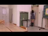 desperate japanese schoolgirl girl is locked on a room