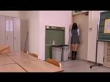 desperate japanese schoolgirl girl is locked on a room
