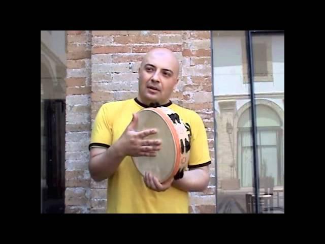 NAFDA Frame Drum Features 4 - Tamburello - Saltarello
