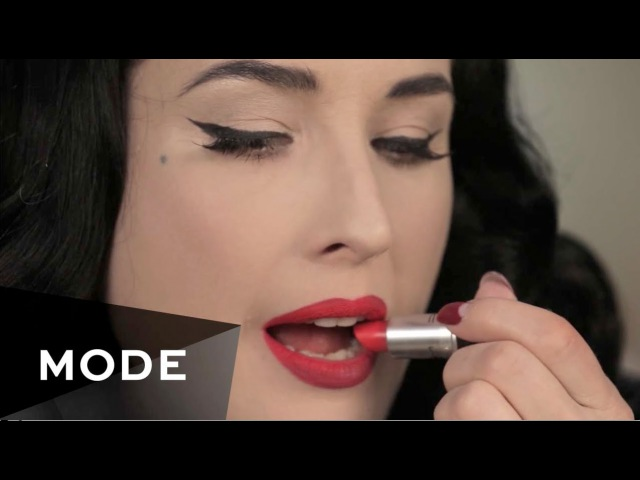 Dita Von Teese Lip Service About Face