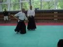 Aiki-Ken Tai no Tenkan Kihondosa - Basic exercise Irimi-Tenkan 1