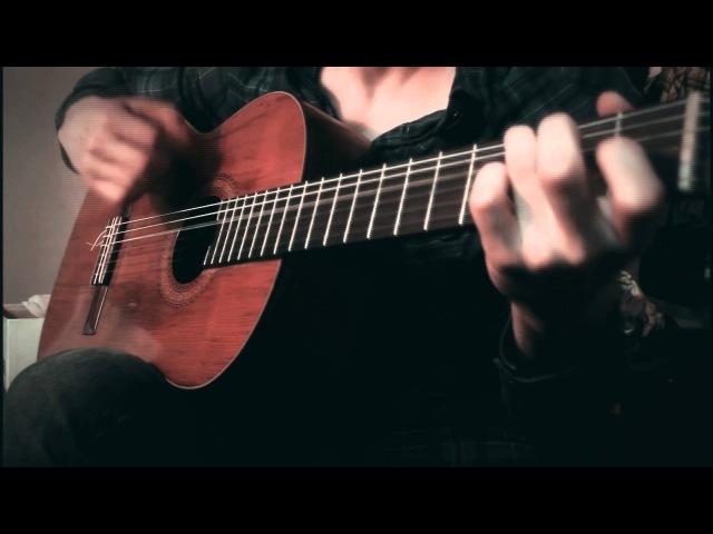 Saint Seiya - Soldier Dream Classical Guitar Cover /w Tabs