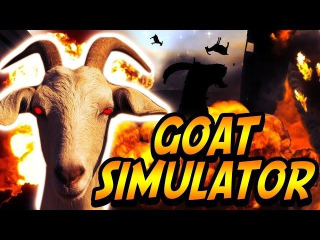 №1 ИГРА GoatZ СИМУЛЯТОР КОЗЛА - Goat Simulator [Первый взгляд] ЖЕСТЬ