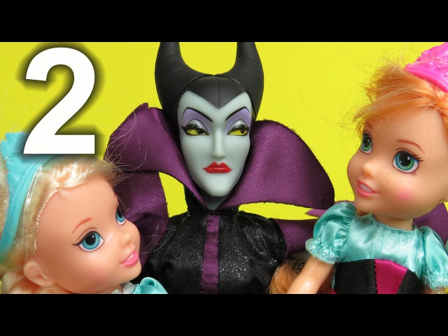 PART 2: MALEFICENT wants to steal Elsa and Anna toddlers AGAIN ! Mother GOTHEL is in ! What now ?