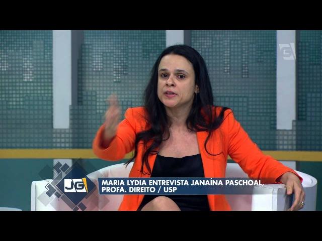 Maria Lydia entrevista Janaína Paschoal, profa. Direito/USP