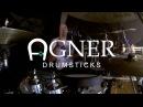 Поручик из группы Король и Шут представляет барабанные палочки Agner Drumsticks