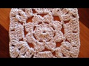 How To Crochet A Granny Square With A Flower - DIY Crafts Tutorial - Guidecentral