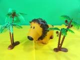 animal kingdom Funny Lion toy unboxing leon de juguete leao de brinquedo