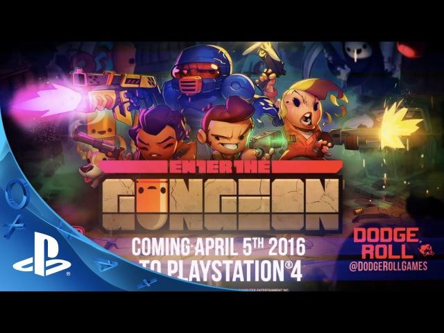 Enter the Gungeon - Gameplay Trailer | PS4