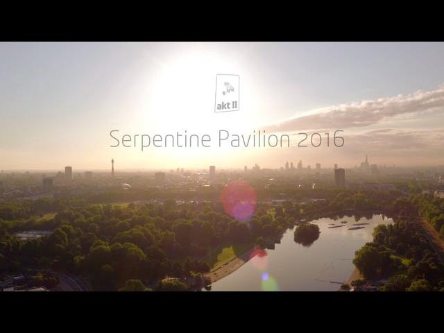 The Serpentine Pavilion 2016