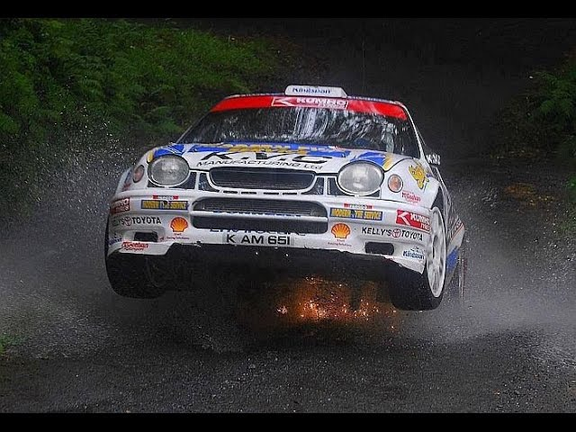 Toyota Corolla WRC Full Attack on Tarmac (Pure Sound) Full HD