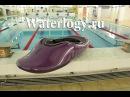 Waterlogy композитный фристайл каяк в бассейне.