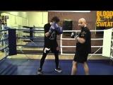 Как избежать клинча. Техника бокса. Игорь Смольянов. Boxing. How to avoid clinch.