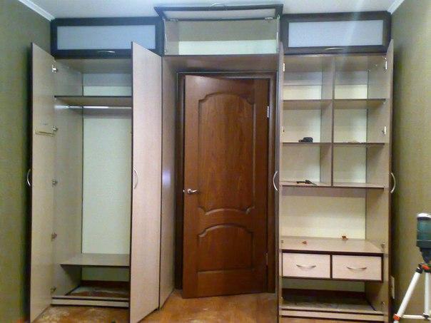 Как самому сделать встроенный шкаф в квартире