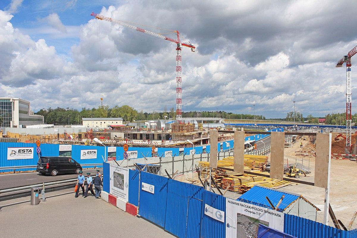 схема предприятий аэропорта домодедово