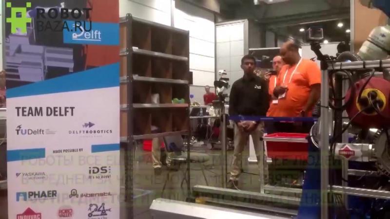 Amazon назвала победителей конкурса роботов-кладовщиков