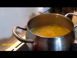 Суп из рыбной консервы с рисом.