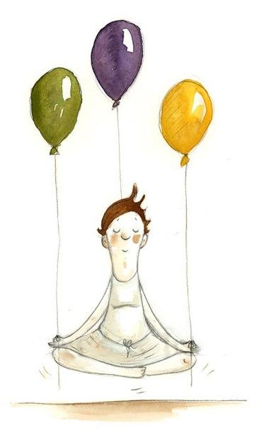 Открытки с днем рождения женщине йога, желаю счастья здоровья