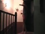 Поляк показывает, как пробивать лоу-кик