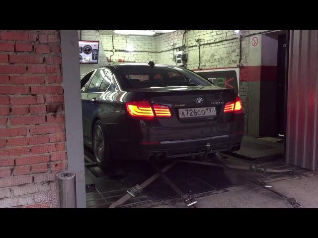 Замер на стенде. BMW F10 530d ST3 DieselBoost