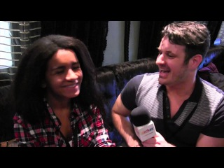 ESCKAZ in London: Interview with Aminata (Latvia 2015) (at London Eurovision Party)