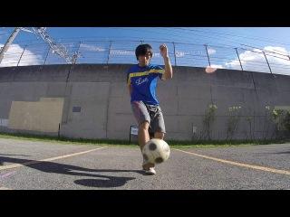 宿題リフティング エアマゼラン Freestyle Little Air move Tricks Air Magellan