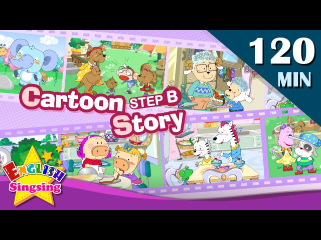 What's that?More Kids Cartoon story step B   Learn English   Collection of Easy conversation