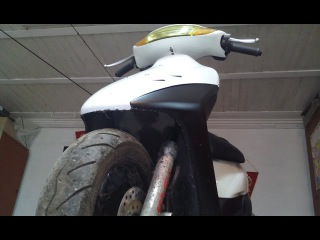 history of one moped honda zx35