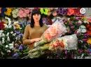 Превосходный искусственный букет в коллекции kvitu! № 624 Букет лилия, роза, люпин, 85 см.