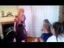 Рапунцель (Рапунсель) танцует опа ган гам стайл PSY с детьми одесса Сапфира www.sapfira.od.ua