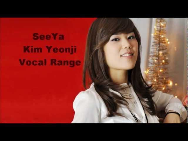 씨야 SeeYa 김연지 Kim YeonJi Vocal Range 음역대 E3 ~ Eb6