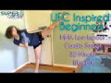 UFC Inspired Beginners MMA Low Impact Cardio Sweat 30 Minute Workout SuperMOM