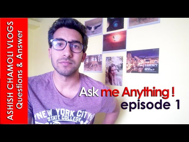 Ask Me Anything - My First Question Answer Video
