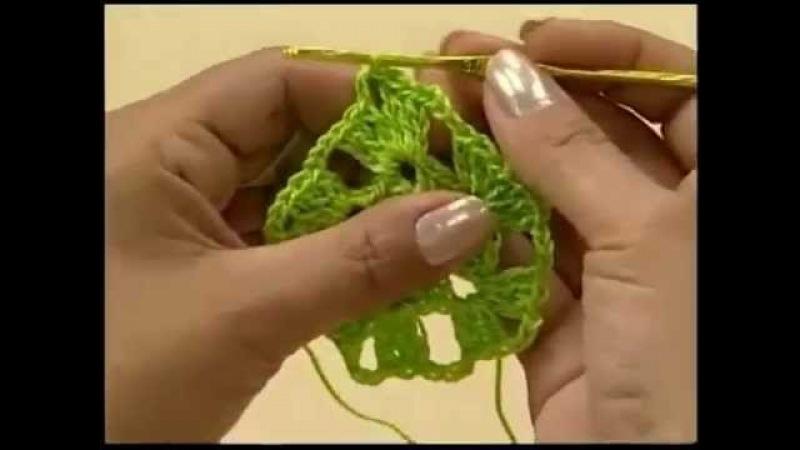 Crochet Blusinha Verão Facil Pentagono Parte 1