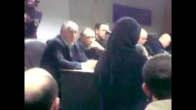 обсуждение проблем молодежи в Дагестане(сестра четко сказала)
