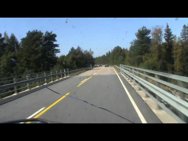 Kyttiä karkuun 1 4L Nissan Sunnylla Pudasjärveltä Yli Iihin 80 km